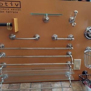 Photo of Elegant Bathroom  Towel Bars & Shelves. WHOLE boards $150.00