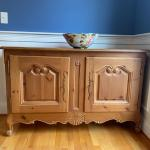 Antique sideboard/bar