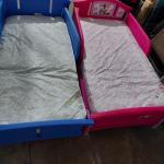 2 Toddler Beds w/ Ortho Mattress