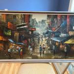 Tokyo oil painting