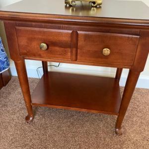 Photo of Wooden Nightstand