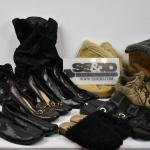 Lot of Shoes, Sizes 9-11: Boots, Heels, Slippers, etc