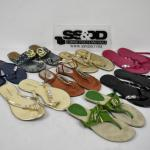 8 Pairs of Sandals - Used, some wear