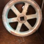 """Vintage Bronze Chrome Wheel 10"""" Steampunk"""