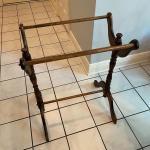 Wood Quilt Rack