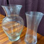 G27 - Set of 2 Glass Vases