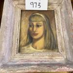973-Painting of Young Women