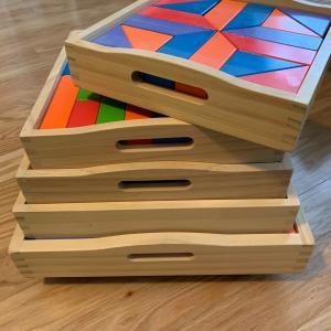 Photo of FAO Schwartz Multi colored blocks