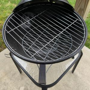 Photo of Mini kettle style charcoal grill