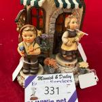 LOT 331 Limited Edition Blooming Delights Musical Figurine Display 1086-D