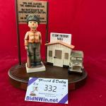 LOT 332 Hummel Goeble 'Checkpoint Charlie' Figurine - LMTD