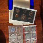 US Proof and mint sets collection with 1972 proof, 1972 mint and 1962 men sets.