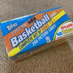 TOPPS 1992-93 Complete Basketball Series 1 & 2 Sets Unopened NBA Cards