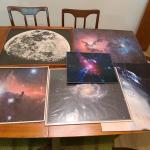 Lot 116:  Vintage Celestial Beings Artwork/Pictures