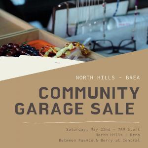 Photo of COMMUNITY GARAGE SALE - 50+ HOMES