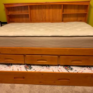 Photo of Twin Trundle Bed & Sleeper Sofa for sale