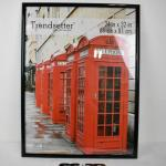 Mainstays 24x32 Trendsetter Poster and Picture Frame, Black - New