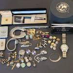 Lot 51: Ladies Citizens Eco Drive Watch, Cufflinks, Zipp0, and More