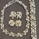 Lot 52: Costume Jewelry: Trifari, Weiss, Liner, Rader, Ricci, and More