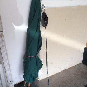 Photo of Small patio umbrella