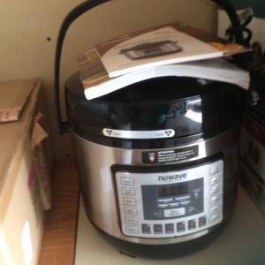 Photo of NUwave pressure cooker