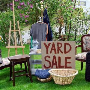 Photo of Yard Sale May 15th and 16th