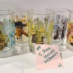 5 McDonalds Shrek Glasses -Item# 684