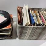 "A Ton of 7"" 45Records -Item# 685"