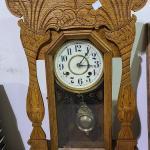 Vintage Oak Clock -Item# 696 / 338 B