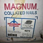 15M Magnum Nails 50 Roll Coils w/300/roll for Magnum WCP-57 Nail Gun PICK UP