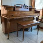 Classic Jannsen Upright Piano
