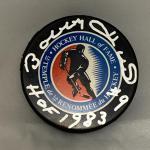 Autographed Bobby Hull Hockey Puck