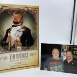 """Ted Dibiase """"The Million Dollar Man"""" Autographed by Ted Dibiase."""
