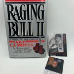 "Autographed ""Raging Bull II"" Jake Lamotta Book"