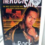 """1st Edition """"The Rock Says..."""" Autographed by The Rock with COA."""