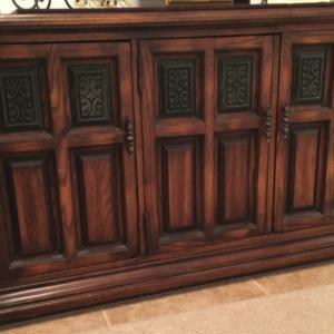 Photo of Beautiful, Elegant Solid Wood Sideboard
