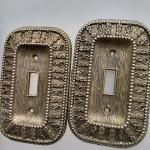 1969 vintage switch plate covers