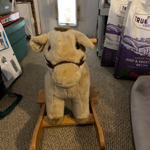 Photo of Pottery Barn Rocking Horse