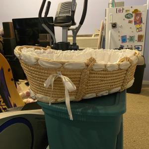 Photo of Burton and Burton Baby Moses Basket