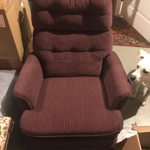 Photo of Upholstered Small Recliner