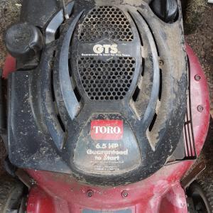 Photo of Toro push mower