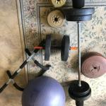 Weight Set plus extras