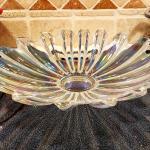 Beautiful,  colorful,  fun, decorative glass bowl