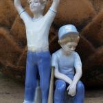 1989 Paul Sebastian baseball players figurine