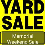 I BET YOU NEVER BEEN TO A YARD SALE LIKE THIS BEFORE! ALL ITEMS ARE BRAND NEW