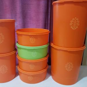 Photo of Vintage canisters