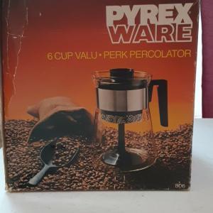 Photo of Pyrex Percolator