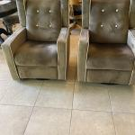 Pair of Recliners (also rock, swivel)