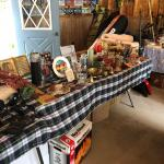 Garage sale  Friday Saturday and maybe Sunday