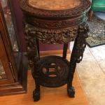 Asian Highly Carved Stand
